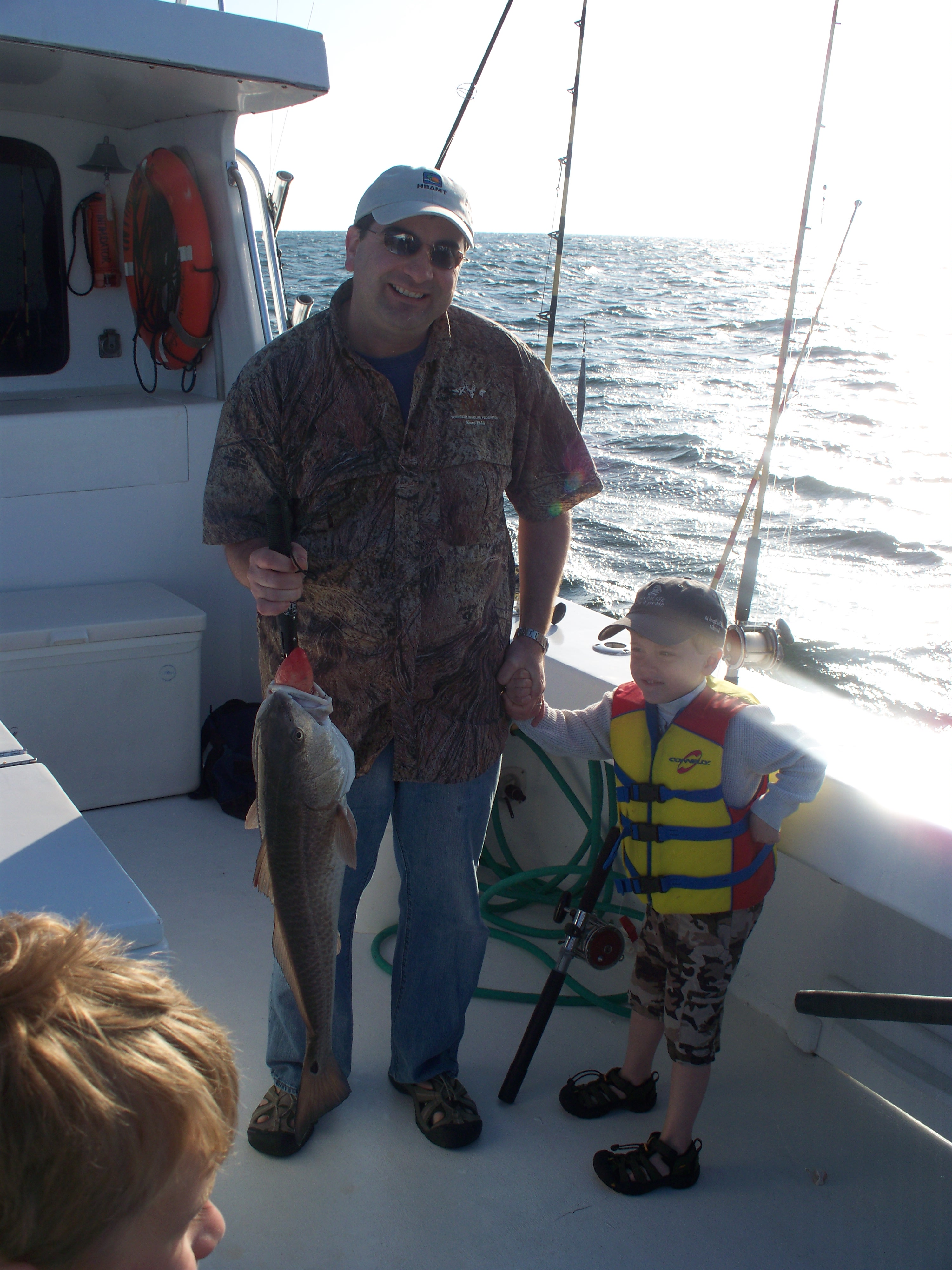 8 hour bottom fishing trip march 16 2010 orange beach for Gulf shores fishing charter rates