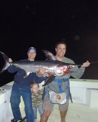 Swordfight in the gulf of mexico orange beach gulf for Alabama deep sea fishing