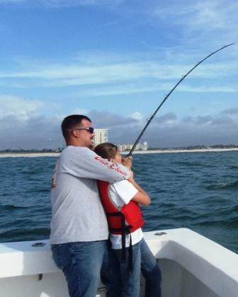 Orange beach fishing morning trip for black friday for Deep sea fishing orange beach